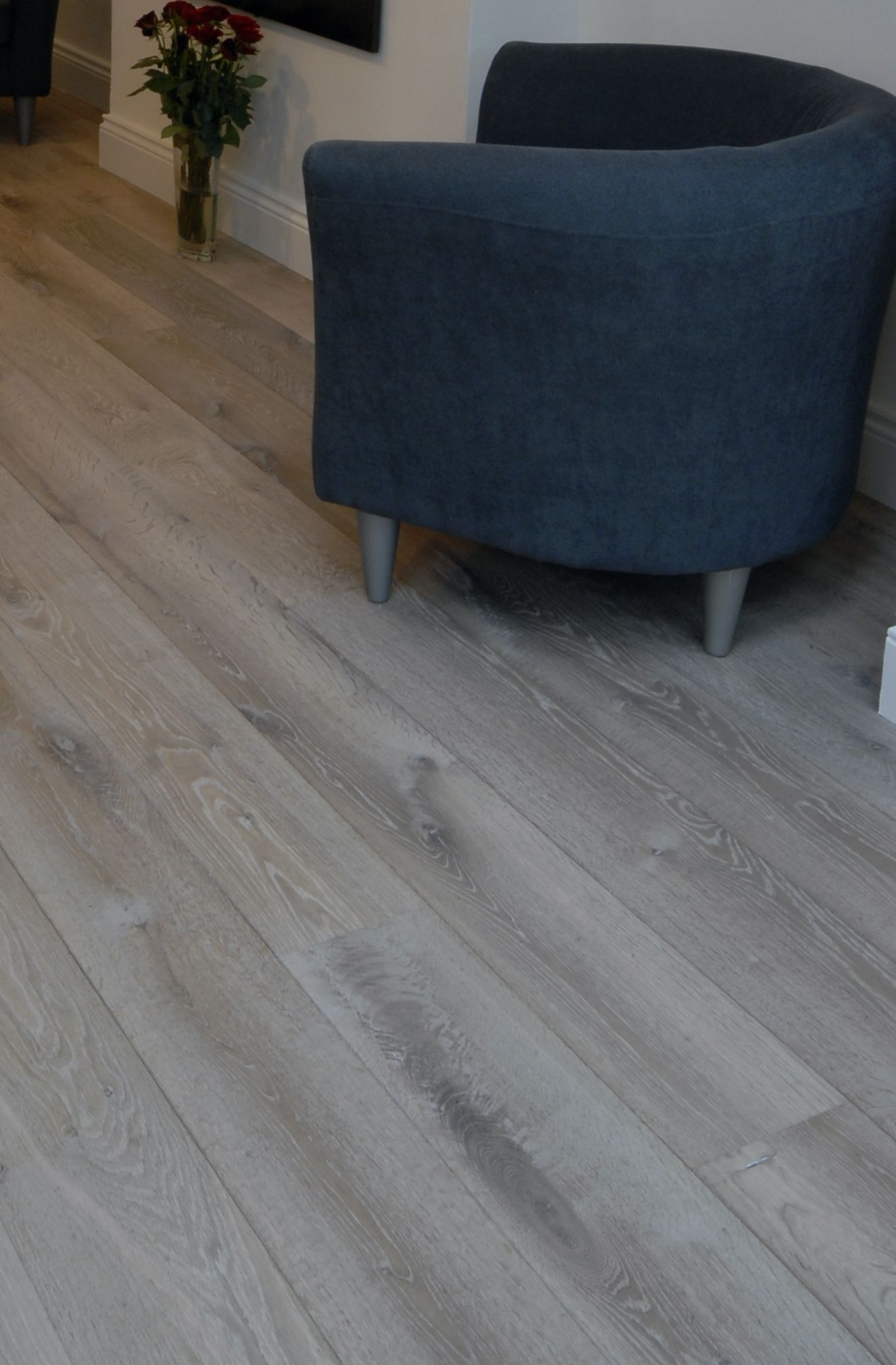 9½ sqm  Smoked White Oiled for £190
